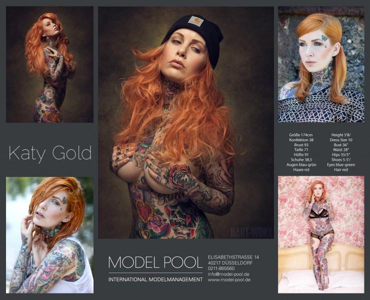 Models mit Tattoos - gefragt wie noch nie und bei  der Modelagentur Model Pool