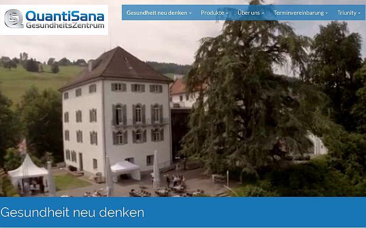 Neuer Internetauftritt: QuantiSana.ch