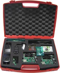 Einstieg in die Welt der 2,4 GHz Funkmodule mit Low Range Evaluation Kit EMB-Z2538PA