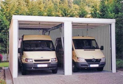 Große MC-Garagen auch für Gottesdienste