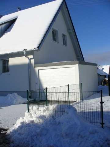 Eisfreie Zufahrtswege für Exklusiv-Garagen?