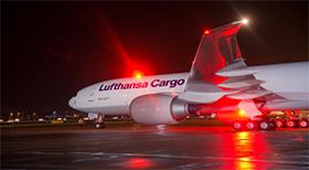 Dynamische Steuerung der Rampen und Zeitfenster bei Lufthansa Cargo