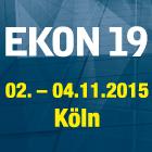 EKON19 startet mit 13 Sprechern und über 30 Sessions