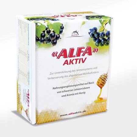 ALFA AKTIV: Nahrungsergänzung mit intensiver Regenerationskraft jetzt auch in Deutschland erhältlich