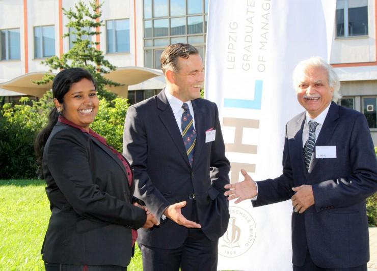 Deutsch-Indische Wirtschaftsbeziehungen im Fokus an der HHL