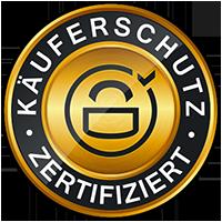 Kaeuferschutz Online Shop Gütesiegel - Käuferschutz Siegel Aktion bei XTC-Load