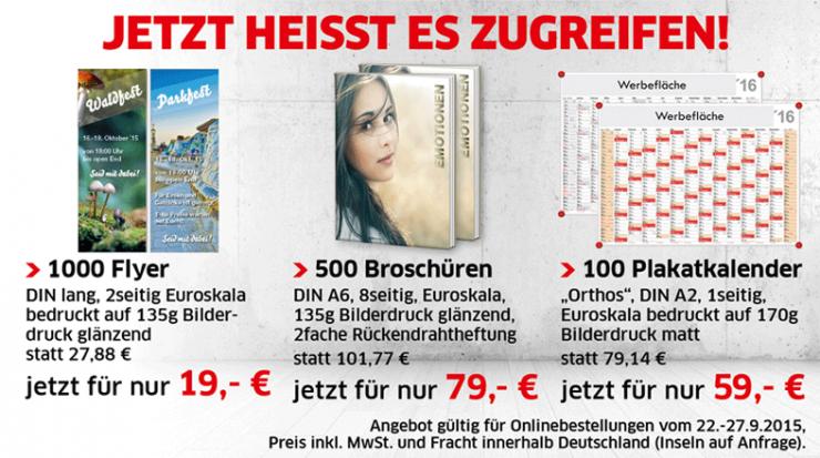 Angebotswoche bei Primus-Print.de mit 3 speziellen Sonderangeboten