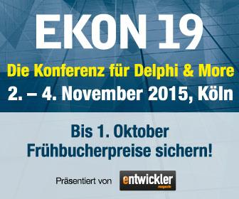 EKON19 - Die Konferenz für Delphi & More