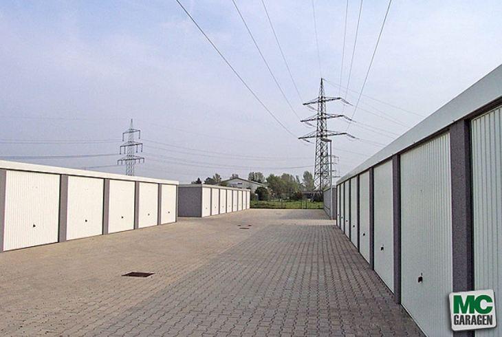 MC-Garagen in Wohngebieten