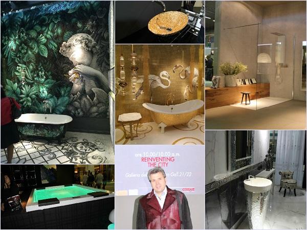 Cersaie 2015: Top-Designer Torsten Müller zeigt seine Trends der weltgrößten Messe für Fliesen und Keramik in Bologna