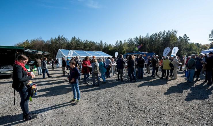 GGEW AG feierte Richtfest für den Windpark Roßdorf