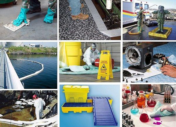 Ölbindemittel und Bindemittel für Chemikalien und andere Flüssigkeiten