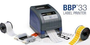 Brady BBP33 Etikettendrucker für Laboratorien und Industriebereiche