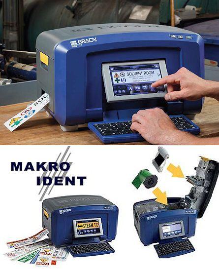 Brady BBP35 Schilder- und Etikettendrucker für den Mehrfarbdruck