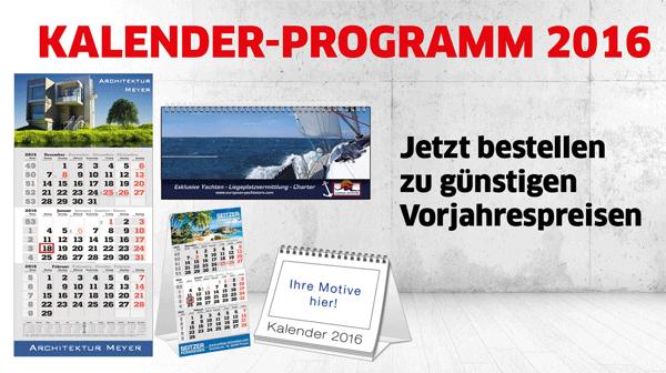 Heiße Phase im Kalenderdruck für 2016 bei Primus-Print.de