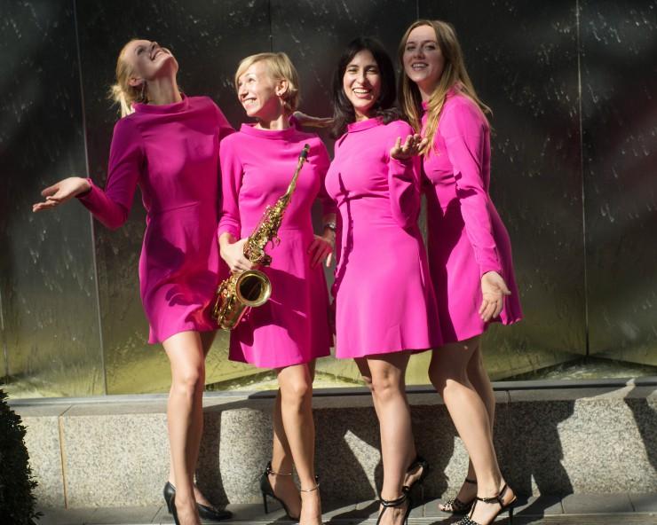 Die Verschmelzung von Coverband, Gala-Band und Lounge-Band machen Pearls of Berlin zu einer Ladies Live Band für High Class Entertainment
