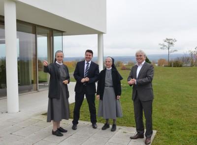 Kloster Hegne baut Hotel aus