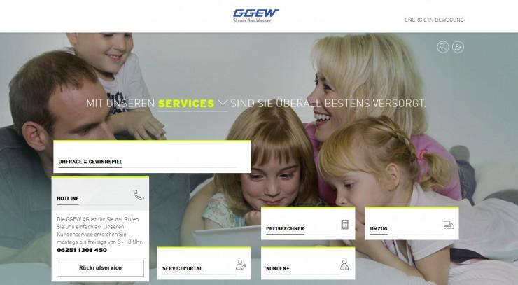 Web-Relaunch bei der GGEW AG