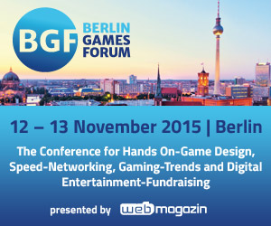 Berlin Games Forum startet diese Woche Donnerstag
