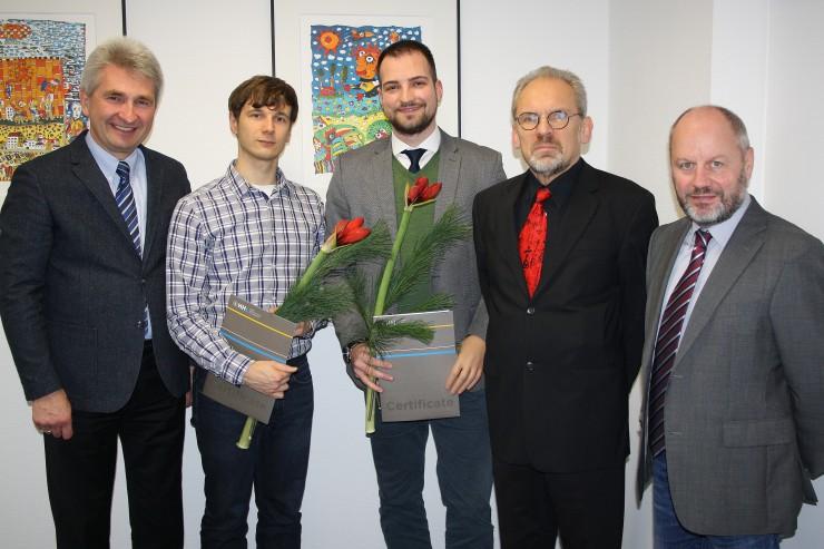 Doktoranden der HHL mit Stipendium vom Beta Gamma Sigma ausgezeichnet