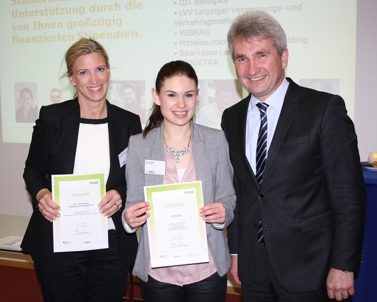 Unternehmen und Stiftungen fördern Exzellenz an Deutschlands ältester Business-School
