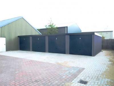 Kleiner Hallenkomplex mit Garagenrampe.de
