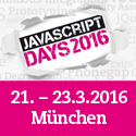 JavaScript Days 2016 im März in München