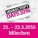 JavaScript Days 2016 im März in München