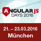 Die AngularJS Days 2016