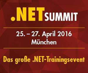 Der neue .NET Summit 2016 in München