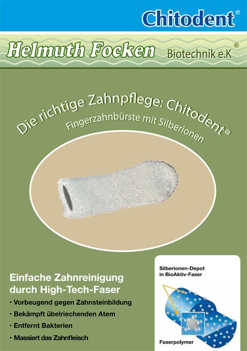 Mikrofaserfingerzahnbürste blitzblanke Zähne und tote Mikroben