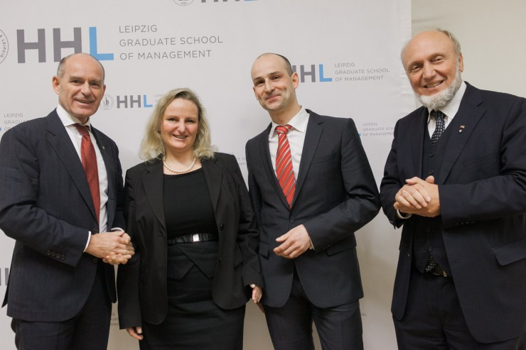 Vital und aktuell: HHL Leipzig Graduate School of Management feiert 20-Jahre Wiederaufnahme des Studienbetriebs