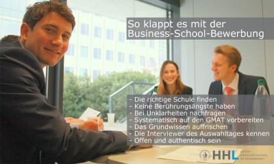 So klappt es mit der Business School Bewerbung