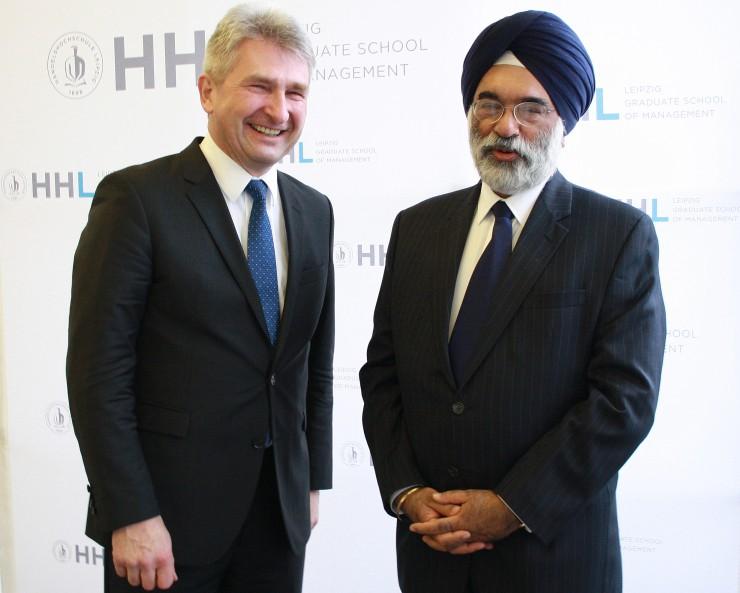 Indischer Wirtschaftstag an der HHL mit Fokus auf mittelständische Unternehmen