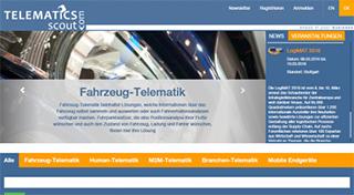Telematics-Scout.com: Bereits über 90 Anbieter auf dem Telematik-Marktpatz registriert