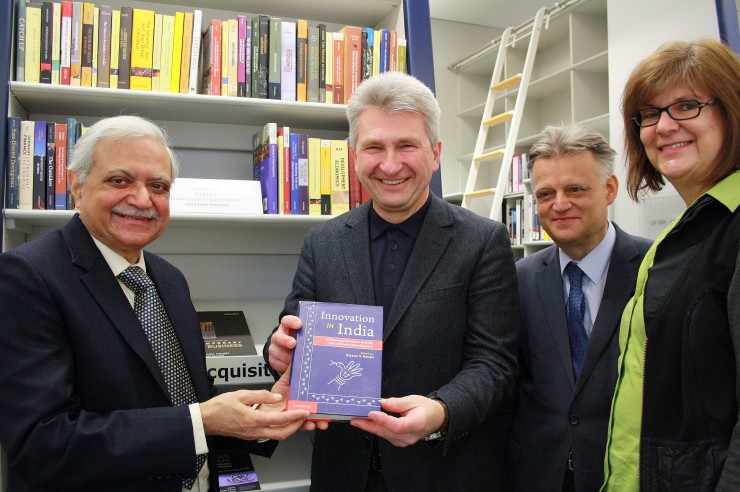 Gift of Books by ICCR and Indian Embassy to HHL Leipzig Graduate School of Management