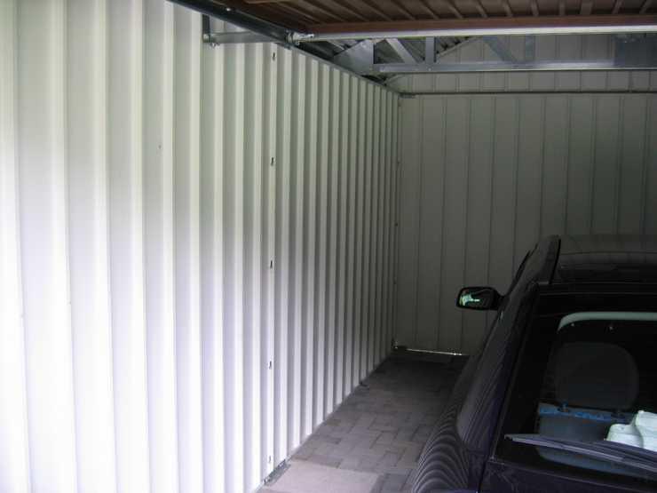 Exklusiv-Garagen als Kunstatelier