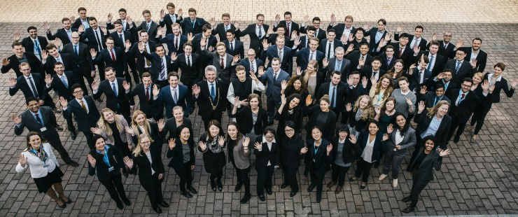 96 Studenten aus 24 Ländern. Studienstart an der HHL Leipzig Graduate School of Management