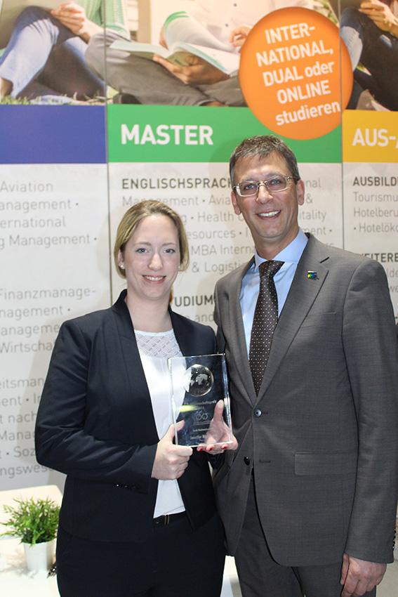 IUBH-Absolventin erhält ITB-Wissenschaftspreis