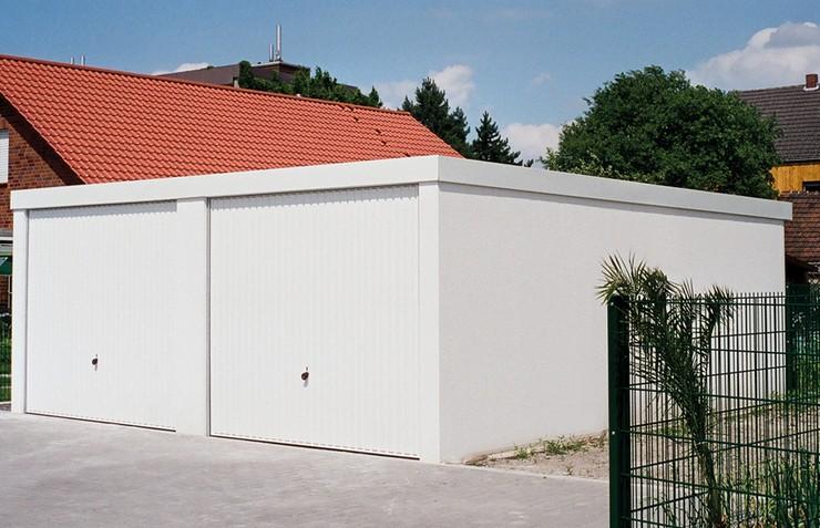 Exklusiv-Garagen mit Garagentorantrieb