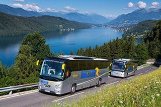 Flottenmanagement von Vehco im Busverkehr von Bacher Touristik