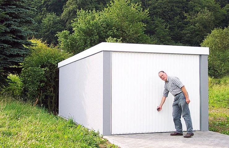 MC-Garagen als Lagerraum