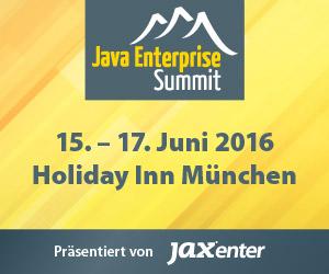 Der Java Enterprise Summit 2016 gibt Programm bekannt