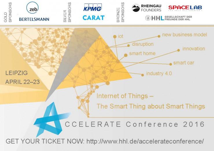 Accelerate@HHL-Konferenz am 22./23. April 2016 widmet sich dem Trendthema