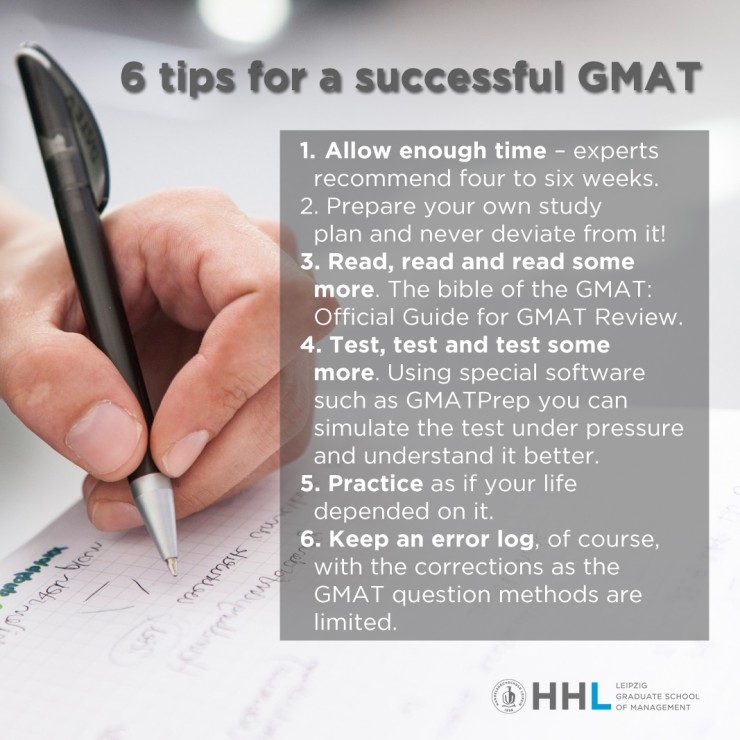 You Can Do It! Tips for a successful GMAT