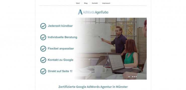 Google AdWords - Online Werbung mit einem Klick?