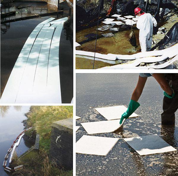Ausgelaufenes Öl und Chemikalien durch Hochwasserschäden schnell beseitigen