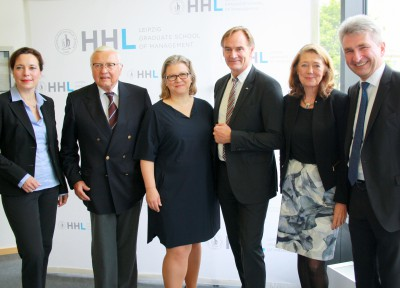 Leipzigs Oberbürgermeister Burghard Jung (SPD) eröffnet Ostdeutschlands größte Gründerveranstaltung