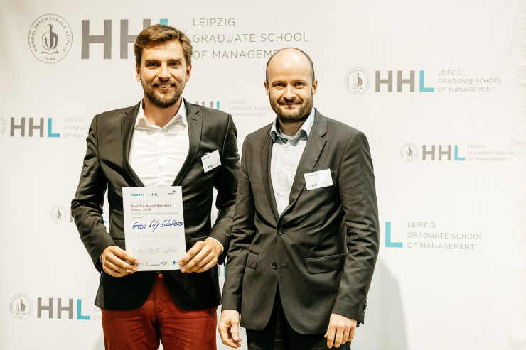 Bio-Ökonomie als Gründungstreiber. Erstmalig Best Bio-Based Business Award an der HHL verliehen