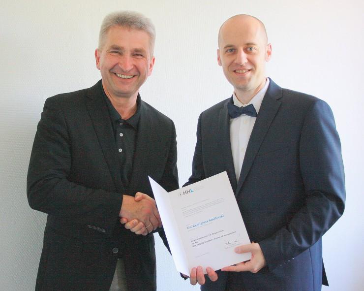 HHL Leipzig Graduate School of Management ernennt Honorarprofessor für Verhandlungsführung